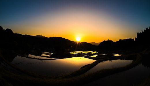 美しき日本の原風景!大阪府・能勢町の『長谷の棚田』を撮ってきた話。