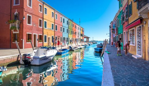 【私のイタリア旅行記②】絵本のような街並みのブラーノ島が素敵すぎた!