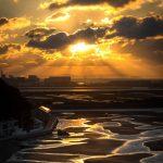 自然が織りなす芸術!兵庫・新舞子海岸の干潟と朝焼けを撮ってきた話。