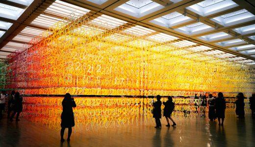10周年を彩る異空間!国立新美術館の『数字の森』を撮ってきた話