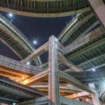眠らない都会の造形美!大阪のジャンクションを撮り歩いてきた話。