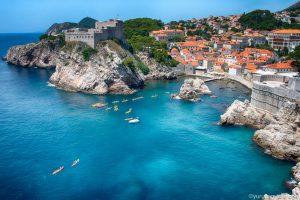 【クロアチア旅行記③】アドリア海の真珠・ドブロブニクを撮り歩く