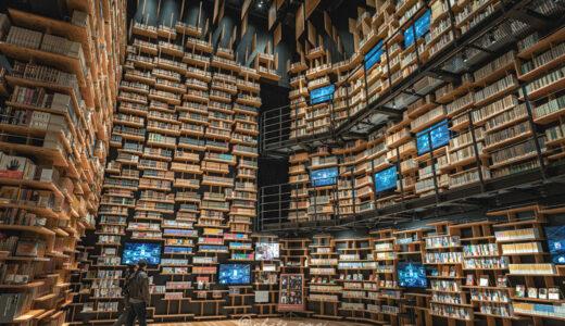 角川武蔵野ミュージアムで話題の映える本棚を撮ってきた話